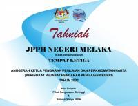 Ketiga Anugerah Pjbt PPN Negeri Melaka