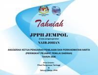 Naib Johan Anugerah Pjbt PD